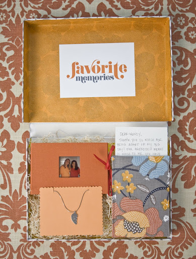 Make an album of your cherished times together.