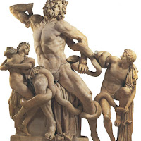 16.- Laoconte devorando a sus hijos