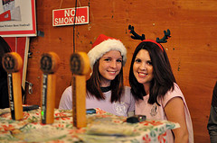 image of Two Beers volunteers from 2009's Winter Fest courtesy of +Russ's Flickr page