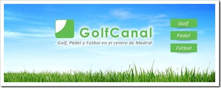 Golf Canal: Golf, Pádel y Fútbol para todos en pleno centro de Madrid 2013