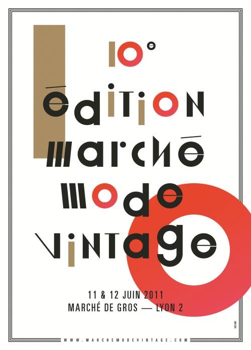 Visuel Officiel - Marché Mode Vintage 2011-Al