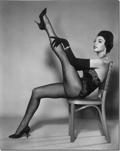 Joan collins legs