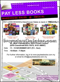 Pay-Less-Books-Warehouse-Sales-YMCA-KL-Sale-Promotion-Warehouse-Malaysia