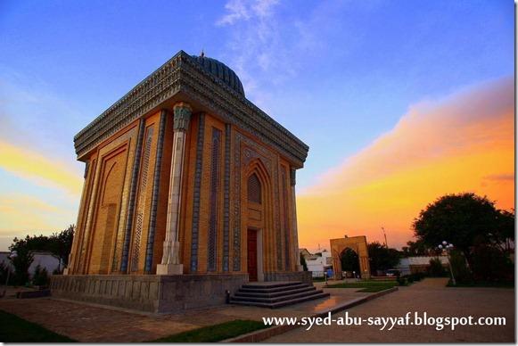 Masjid Abu Mansur – Samarkand, Uzbekistan