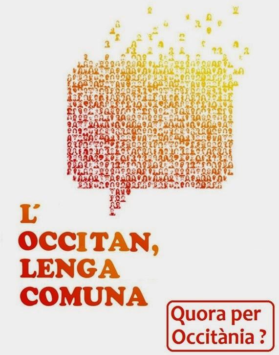 Occitan, lenga comuna quora en Occitània