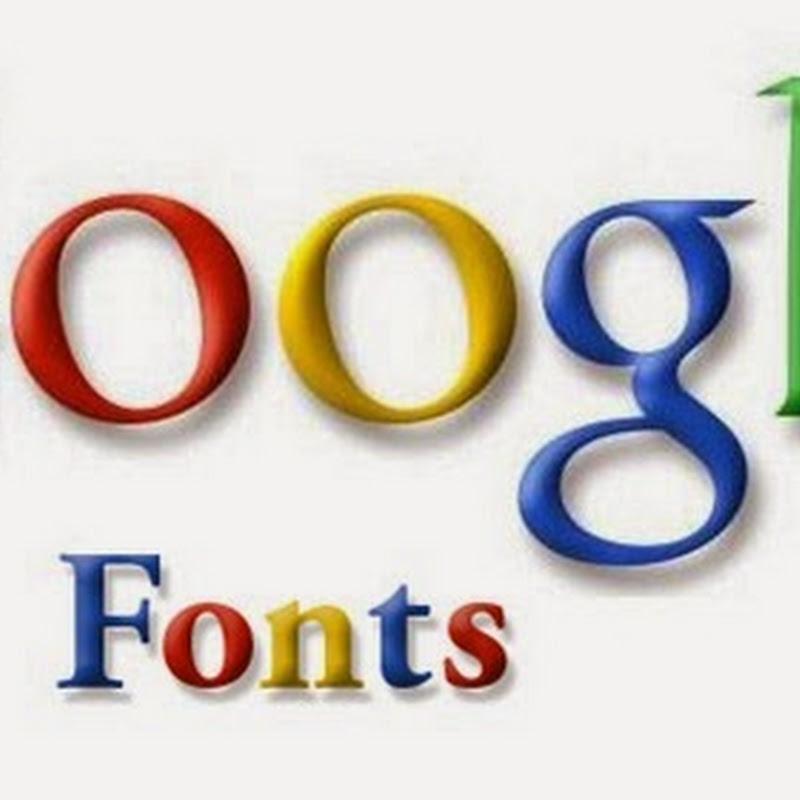 Google Fonts è l'ennesimo servizio extra, offerto da Google.