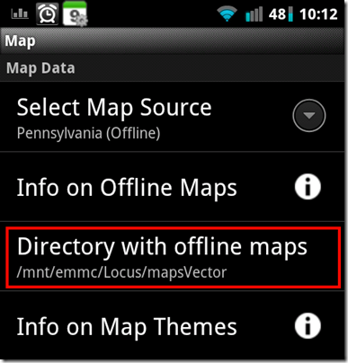 mapsVector