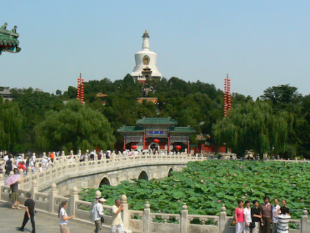 Beijing travel: visit Behai temple