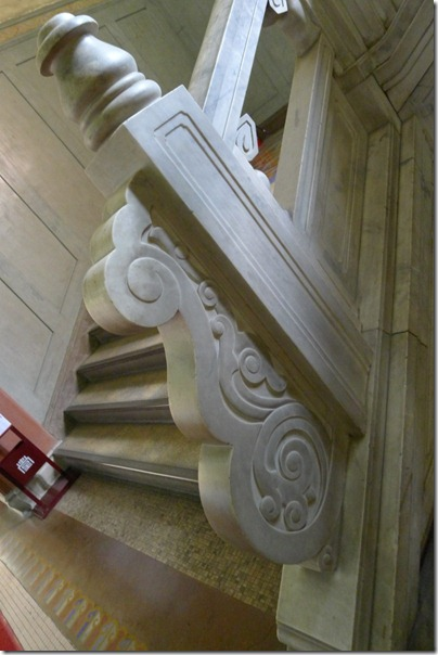marble staircase 白瓷階梯