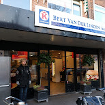 buying raw horse meat at Bert Van Der Linden Keurslager in IJmuiden, Noord Holland, Netherlands