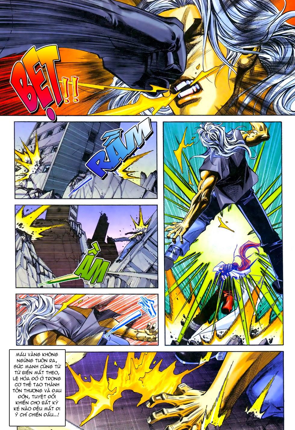 X Bạo Tộc chap 67 - Trang 20