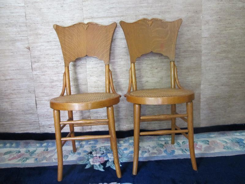Ornate Chair Pair