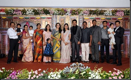 karthi ranjini wedding reception stills-8