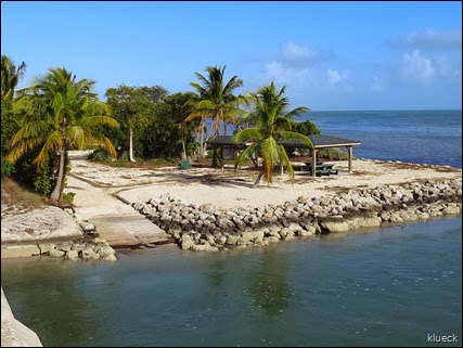 Park with kayak launch on Little Sugarloaf Key
