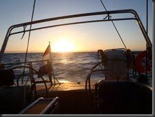 11-12 Zons ondergang onder de Kaap