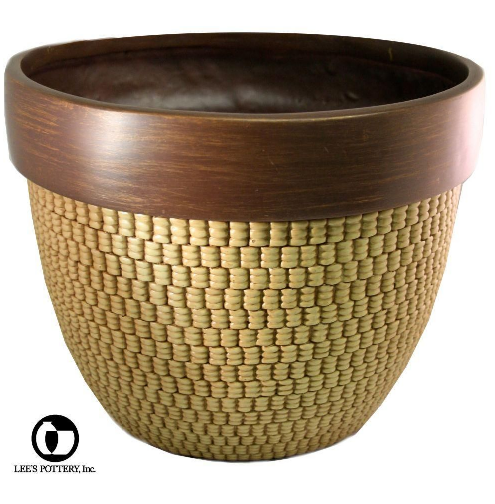This planter reminds me of an acorn. It has such a rich, nutty color, perfect for displaying outdoors. (homedepot.com)