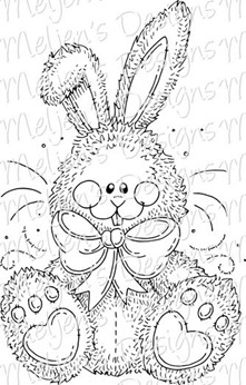Meljens Designs Fluffy Bunny