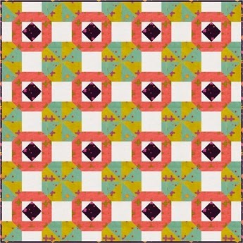 Spinning Wheels Quilt