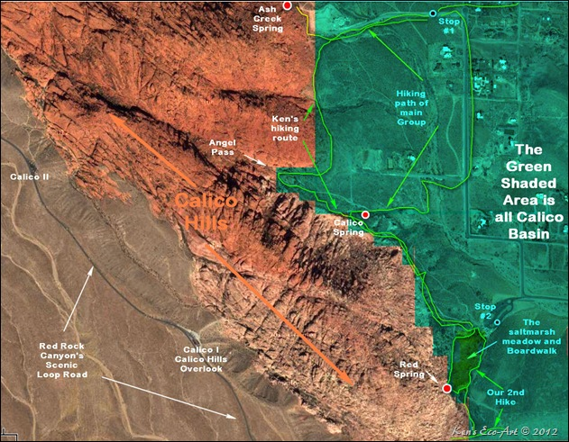 MAP-Calico Basin