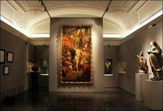 Gloria Ishizaka - museu de são roque - sala do museu - São Sebastião