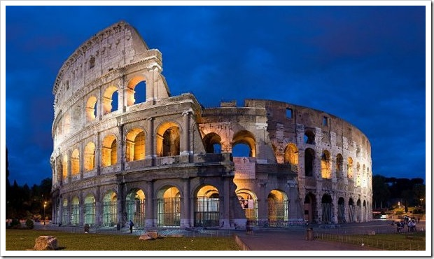 Roman Colosseum in Italy