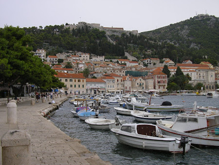 What to see in Croatia: Hvar port and fortress