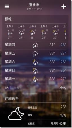 Yahoo!氣象-05