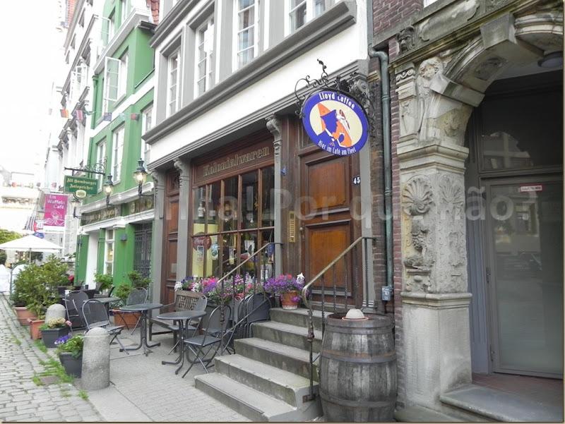Restaurantes da Deichstrasse
