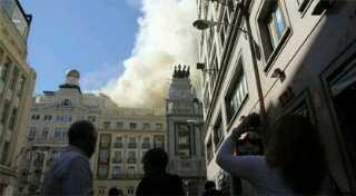 incendio teatro alcazar madrid