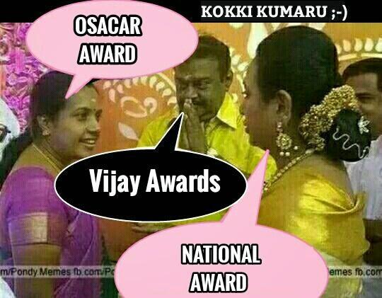 VIJAY TV AWARDS FUNNY TAMIL MEMES | Funny Indian jokes ...