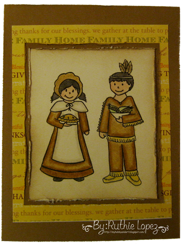 Fresh Brewed - Card Cupids - Happy Thanksgiving Card 2