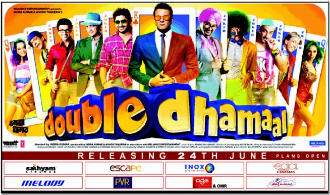 Doubls Dhamaal Poster