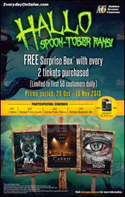 GSC Halloween Promotion 2013 Malaysia Deals Offer Shopping EverydayOnSales
