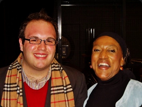 Me and Jessye Norman