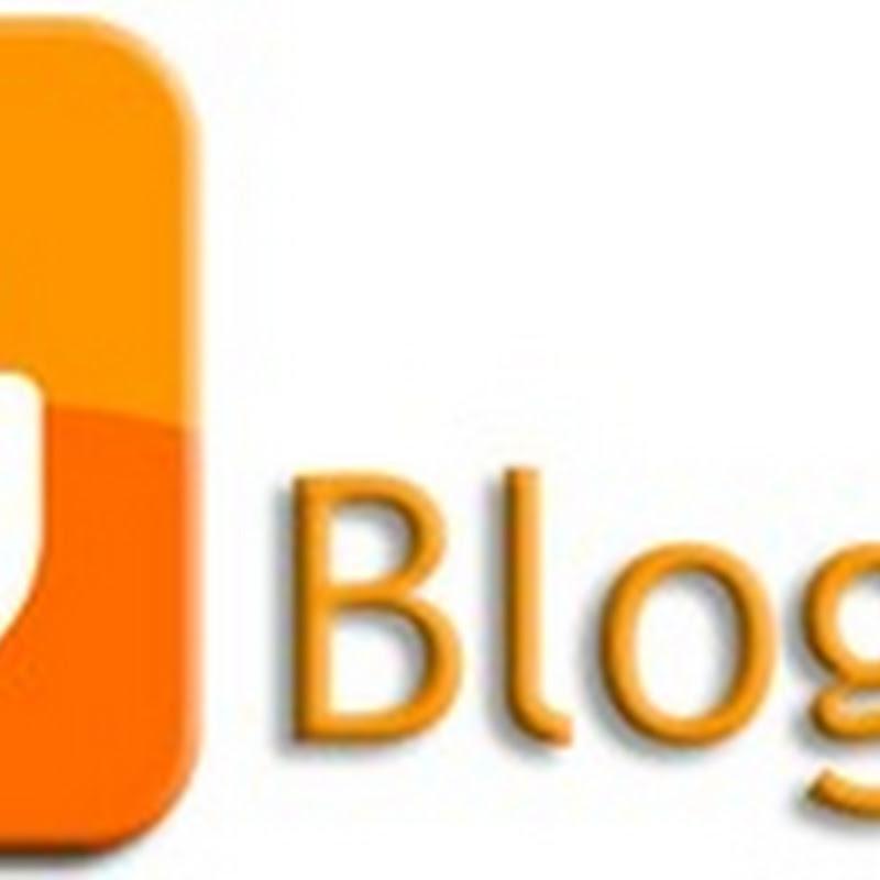 Tutte le etichette di Blogger in un menù verticale.