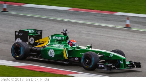 'Caterham F1' photo (c) 2013, Ian Dick - license: http://creativecommons.org/licenses/by/2.0/