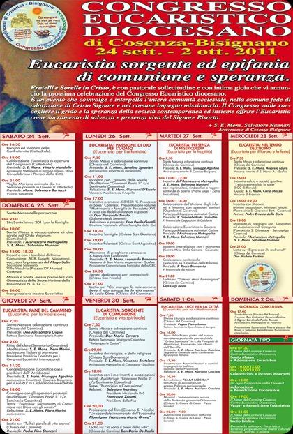 congresso eucaristico Diocesano