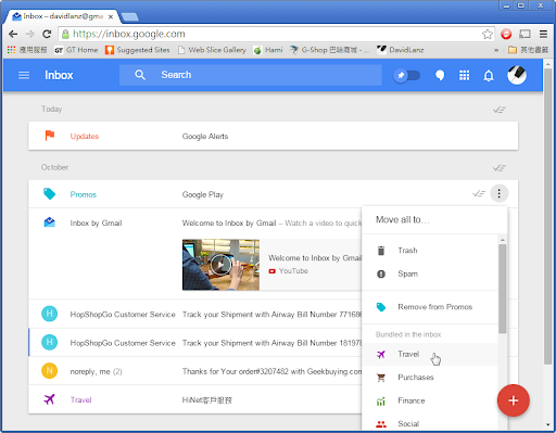 Inbox by Gmail - the inbox that works for you - Google