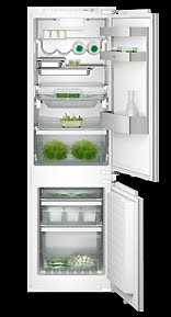 This Vario fridge-freezer combination is great for small-kitchen apartments.