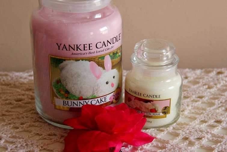 yankee candle bunny cake review