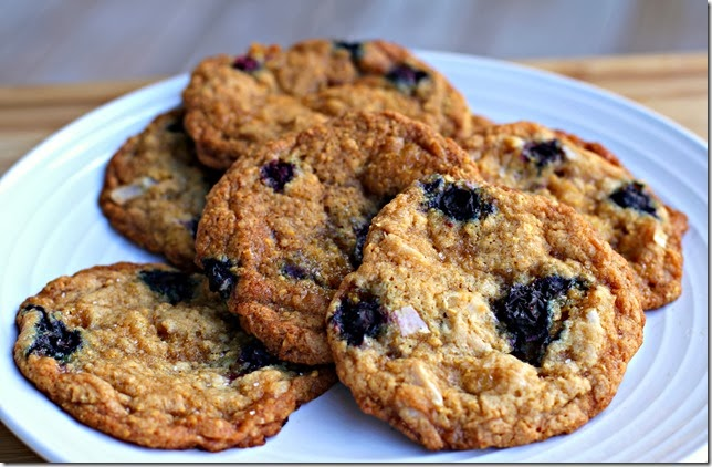 Salted Caramel, Blueberry, Coconut-Corn Flake Cookies1