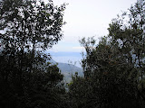 A glimpse of Lake Toba from Pangulubao trig point (Daniel Quinn, August 2011)