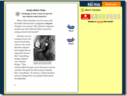 Using online stories in the classroom as a computer and literacy center - or as homework assignment. - Raz Kids