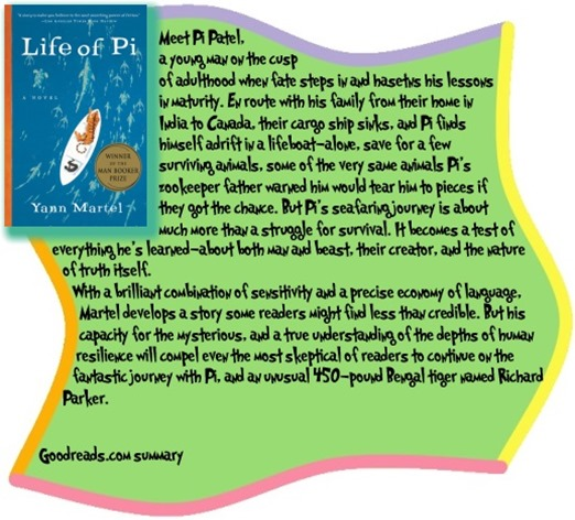Review life of pi by yann martel blogher for Life of pi explained