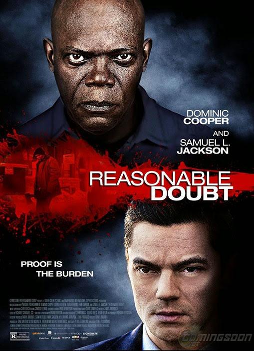 Reasonable Doubt poszter, főszerepben Samuel L. Jackson és Dominic Cooper