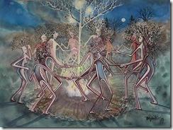 dancing tree heads