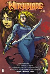 Actualización 20/03/2015: The Witchblade - Floyd Wayne y k0ala nos traen el #181. gracias!