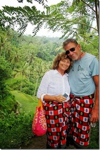 Bali hike R&L
