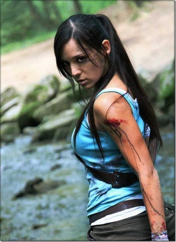 Os melhores cosplays de Lara Croft 26