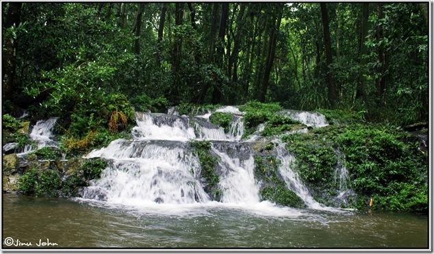 Step waterfalls near  Dudhsagar